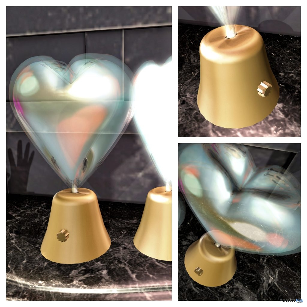 New Release: Rotating Valentine Heart Lamp by [satus Inc] - Teleport Hub - teleporthub.com