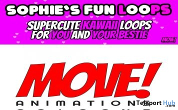 New Release: Sophie's Fun Loops Bento Dance Pack by MOVE! Animations Cologne- Teleport Hub - teleporthub.com