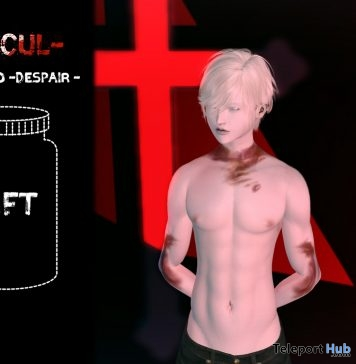 Despair Tattoo Omega Applier 1L Promo Gift by Sacul - Teleport Hub - teleporthub.com
