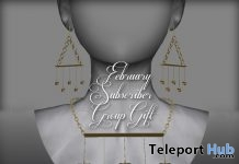Stars Earrings & Necklace February 2019 Subscriber Gift by Graffitiwear- Teleport Hub - teleporthub.com