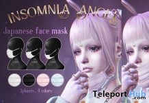 Japanese Face Mask Fatpack February 2019 Group Gift by Insomnia Angel- Teleport Hub - teleporthub.com