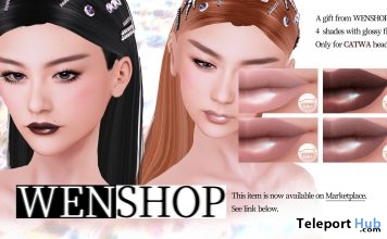 Lipstick Applier For Catwa Heads 1L Promo Gift by WENSHOP - Teleport Hub - teleporthub.com