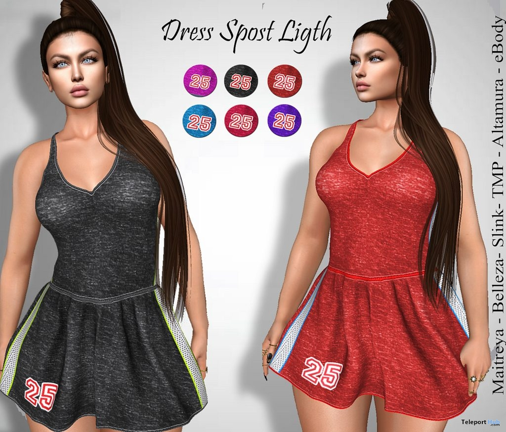 Sport Ligth Dress 10L Promo by LS Diamond - Teleport Hub - teleporthub.com