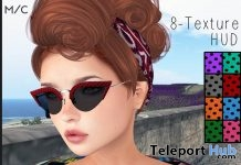Dotty Retro Shades Fatpack February 2019 Group Gift by {Poeme}- Teleport Hub - teleporthub.com
