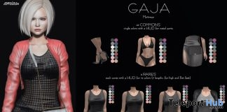 New Release: GAJA Outfit & Accessories Gacha by amias @ Shiny Shabby February 2019 - Teleport Hub - teleporthub.com