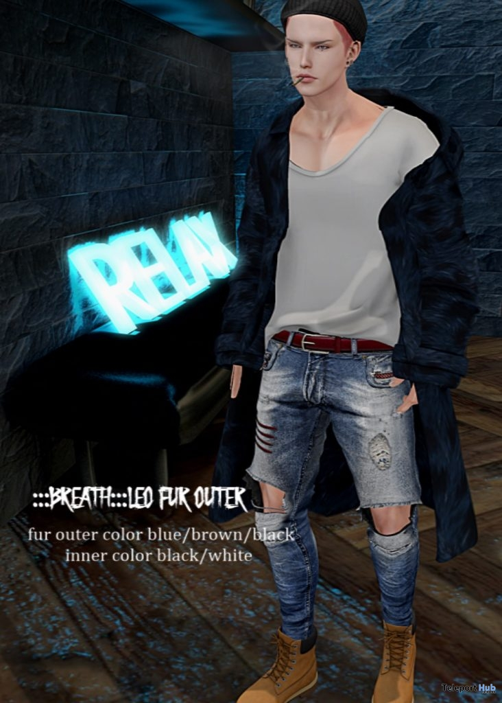 "Leo Fur Outer February 2019 Gift by Breath @ FREEBIES ""F"" Store - Teleport Hub - teleporthub.com"