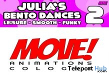 New Release: Julia Vol 2 Bento Dance Pack by MOVE! Animations Cologne- Teleport Hub - teleporthub.com