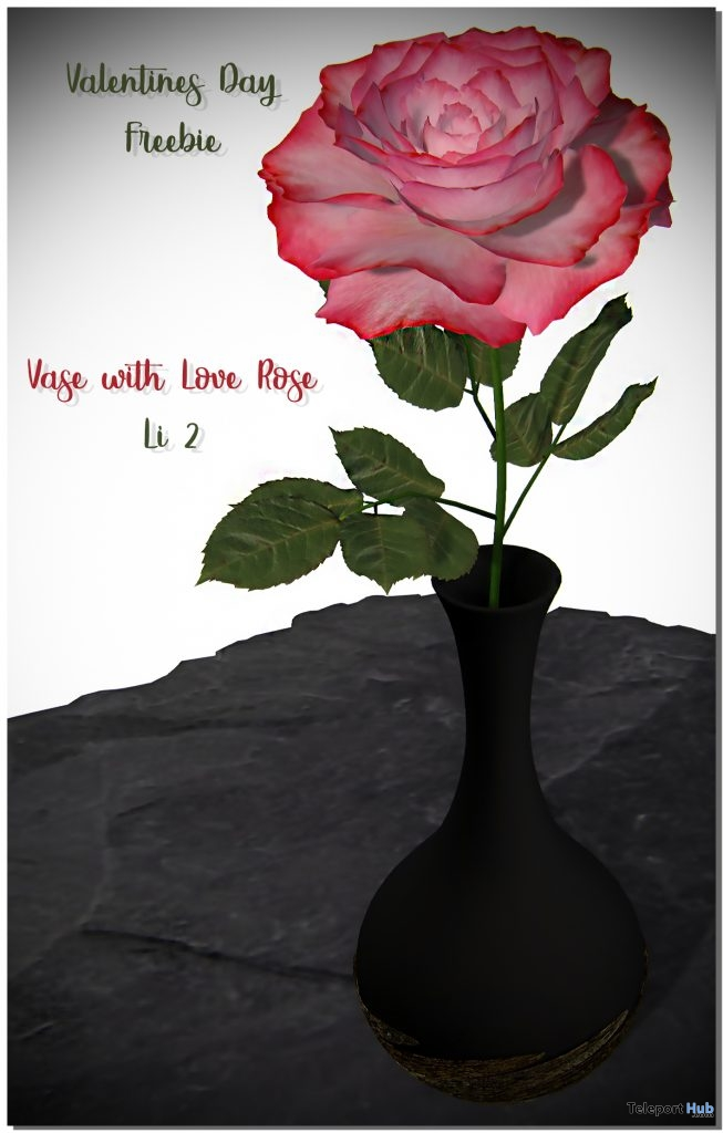 Valentines Day Rose February 2019 Gift by June Trenkins - Teleport Hub - teleporthub.com