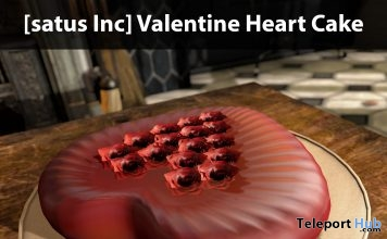 New Release: Valentine Heart Cake Ad by [satus Inc] - Teleport Hub - teleporthub.com