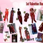 Virtual Diva Couture's Valentine Hunt 2019 - Teleport Hub - teleporthub.com