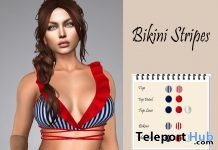 Stripes Bikini March 2019 Group Gift by LS Diamond - Teleport Hub - teleporthub.com