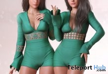 Christy Green Outfit St. Patrick's Day 2019 Group Gift by SCANDALIZE - Teleport Hub - teleporthub.com