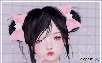 Starlet Bow March 2019 Group Gift by {jealousy.}- Teleport Hub - teleporthub.com