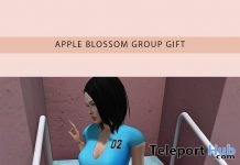 Freedom Navy Blue & Turquoise Dress March 2019 Group Gift by Apple Blossom - Teleport Hub - teleporthub.com