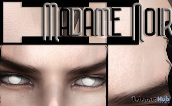 White Eyes March 2019 Group Gift by Madame Noir- Teleport Hub - teleporthub.com