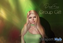 St. Patrick's Day One Shoulder Dress March 2019 Group Gift by DarkFire - Teleport Hub - teleporthub.com