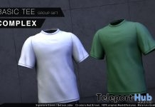 Basic Tee March 2019 Group Gift by COMPLEX - Teleport Hub - teleporthub.com
