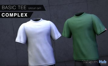 Basic Tee March 2019 Group Gift by COMPLEX- Teleport Hub - teleporthub.com