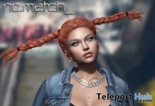 No Socks Hair March 2019 Group Gift by No Match - Teleport Hub - teleporthub.com