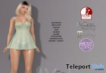 Ma Jolie Fleur Lingerie Set March 2019 Group Gift by Mutiny in Heaven - Teleport Hub - teleporthub.com