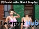 New Release: [S] Dania Leather Skirt & Strap Top by [satus Inc]- Teleport Hub - teleporthub.com