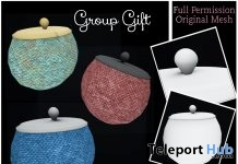 Full Perm Plain Cookie Jar March 2019 Group Gift by Sherbert - Teleport Hub - teleporthub.com
