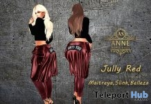 July Red Outfit 10L Promo by Anne Store - Teleport Hub - teleporthub.com