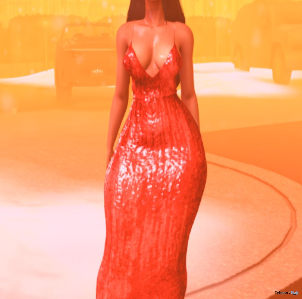 Nvy Dress Group Gift by A Breakfast Convo- Teleport Hub - teleporthub.com