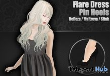 Flare Dress & Pin Heels March 2019 Group Gift by Clavis - Teleport Hub - teleporthub.com