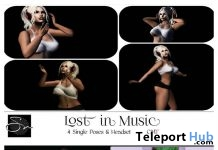 Styles of A Man & Lost In Music Bento Pose Packs March 2019 Group Gift by Something New- Teleport Hub - teleporthub.com