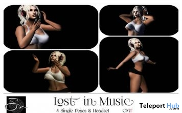 Styles of A Man & Lost In Music Bento Pose Packs March 2019 Group Gift by Something New - Teleport Hub - teleporthub.com