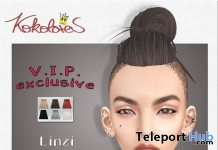 Linzi Hair Exclusive Pack March 2019 Group Gift by KoKoLoReS - Teleport Hub - teleporthub.com