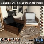 New Release: Chronicle Lounge Chair by [satus Inc]- Teleport Hub - teleporthub.com