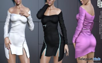New Release: Hatiora Dress by ElvenElder @ Shiny Shabby March 2019 - Teleport Hub - teleporthub.com