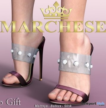 cfbfdced47de Amber High Heels April 2019 Group Gift by Marchese