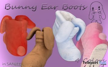 2453af2a0ef8 Bunny Ear Boots April 2019 Group Gift by in.SANITY Designs