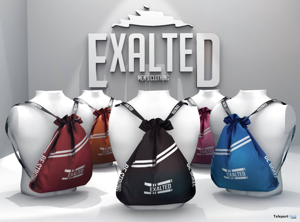 Backpack April 2019 Group Gift by ExalteD- Teleport Hub - teleporthub.com