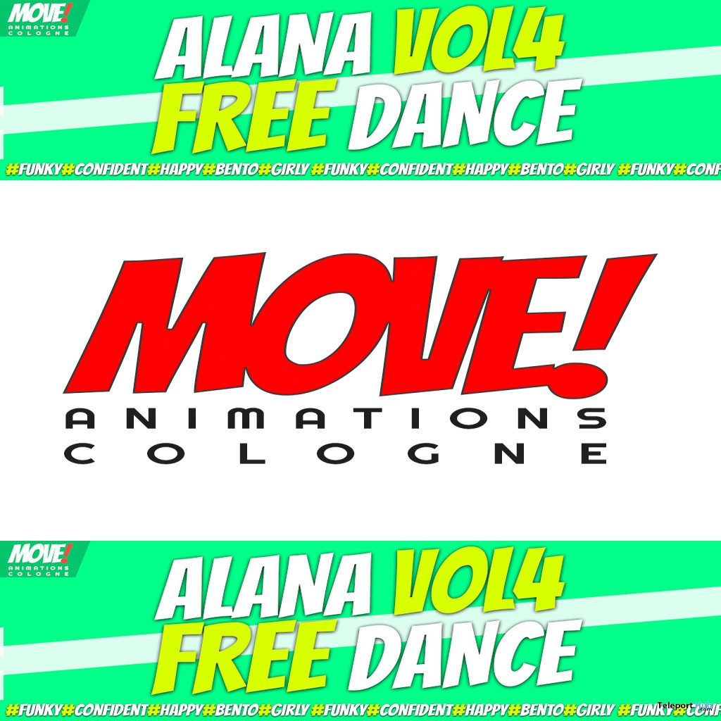 Alana 56 Bento Dance Gift by MOVE! Animations Cologne - Teleport Hub - teleporthub.com