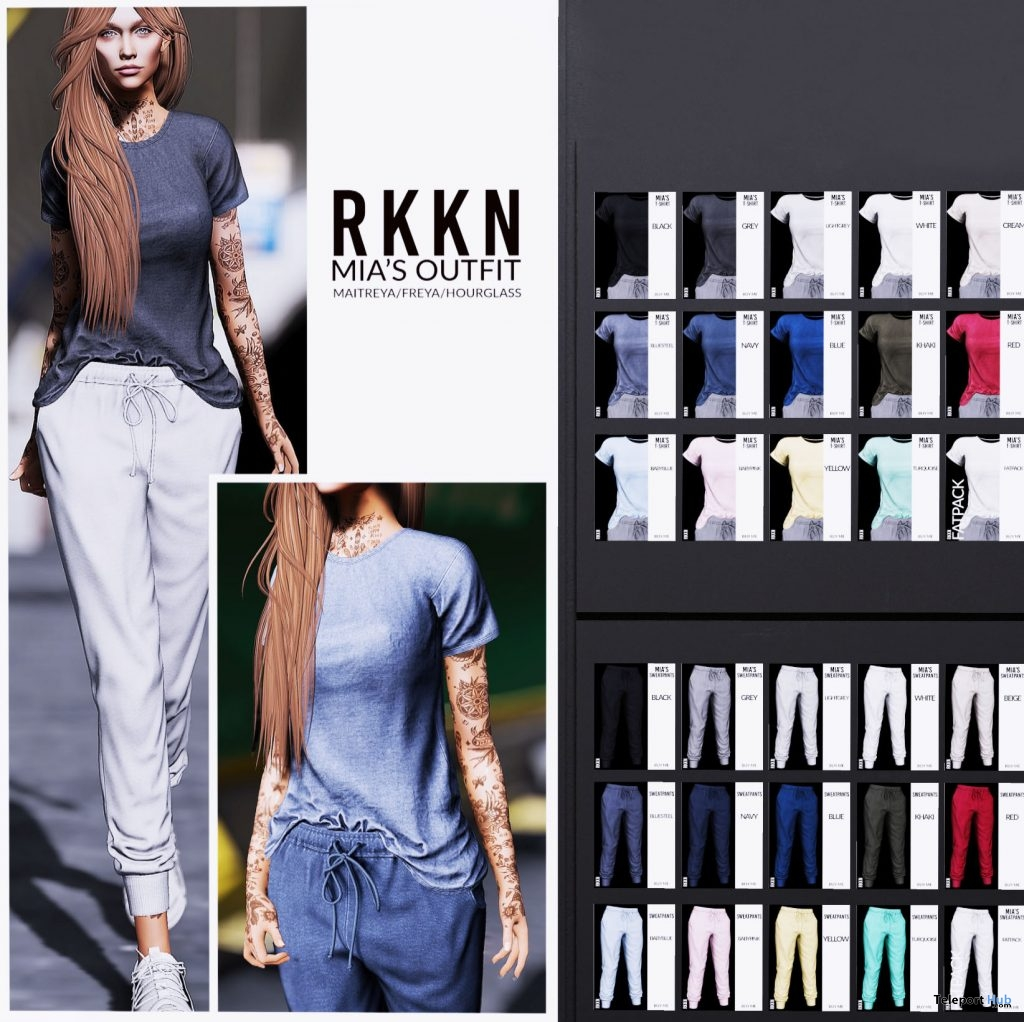 New Release: Mia's Outfit by RKKN @ Shiny Shabby April 2019 - Teleport Hub - teleporthub.com
