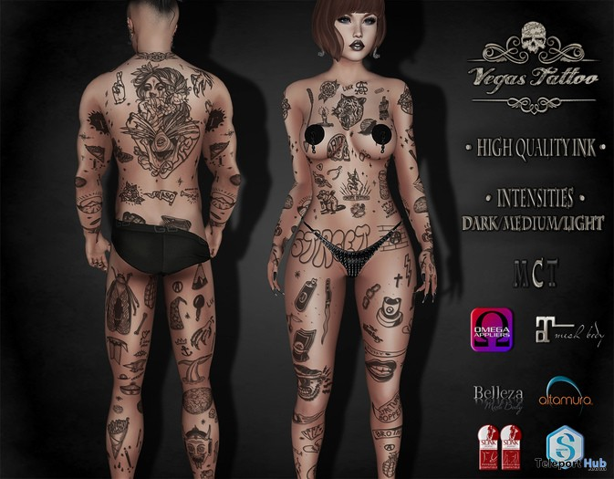 Street Body Tattoo Appliers 1L Promo Gift by Vegas Tattoo - Teleport Hub - teleporthub.com