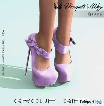 2c130fd93116 Grace Heels May 2019 Group Gift by Mosquito s Way