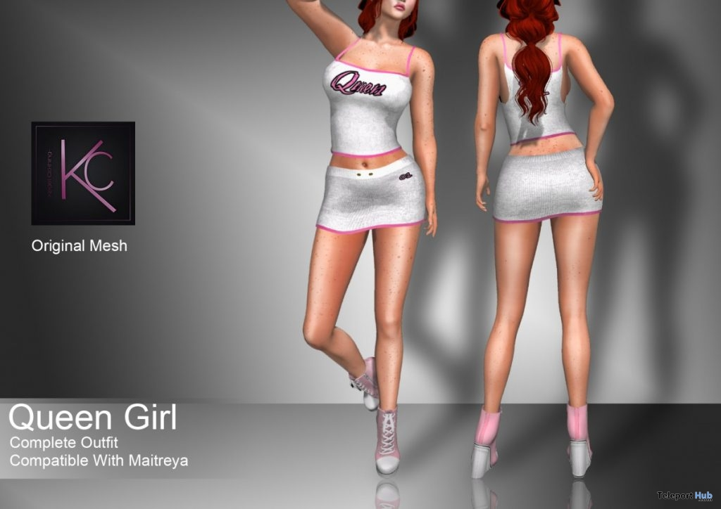 Queen Girl Clothing 10L Promo by Kegel Clothing - Teleport Hub - teleporthub.com