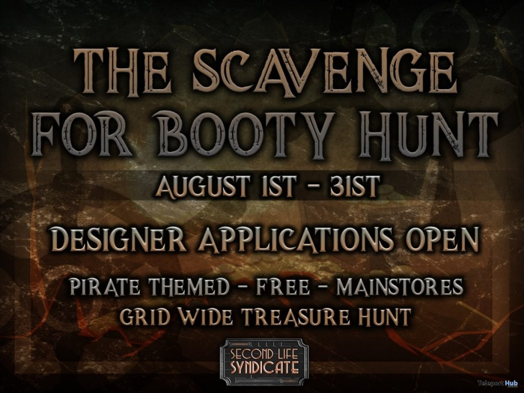 The Scavenge for Booty Treasure Hunt - Teleport Hub - teleporthub.com