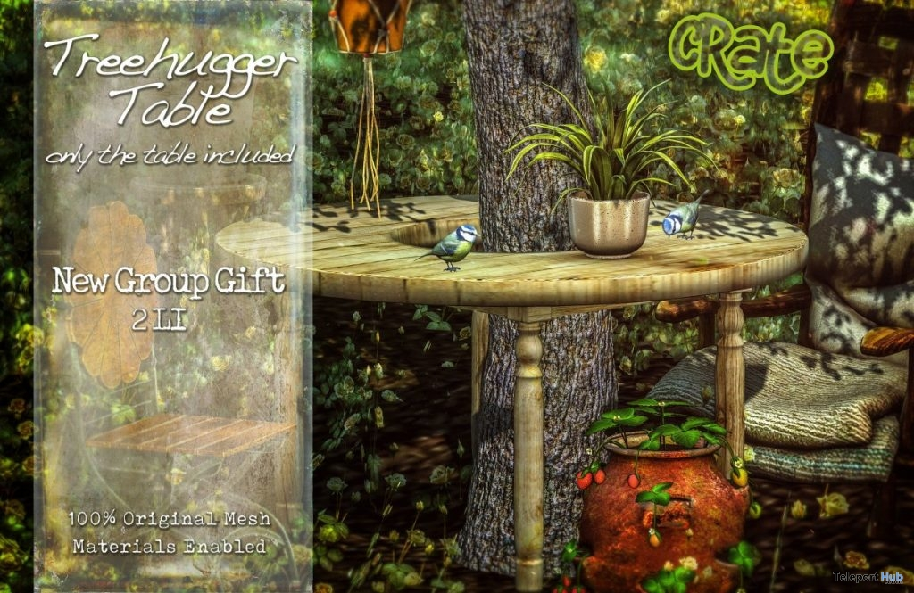 TreeHugger Table June 2019 Group Gift by crate - Teleport Hub - teleporthub.com