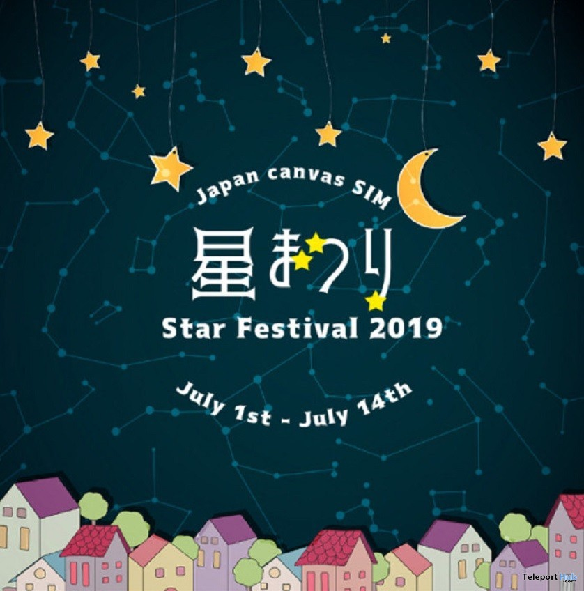 Japan Canvas Sim Star Festival 2019 - Teleport Hub - teleporthub.com