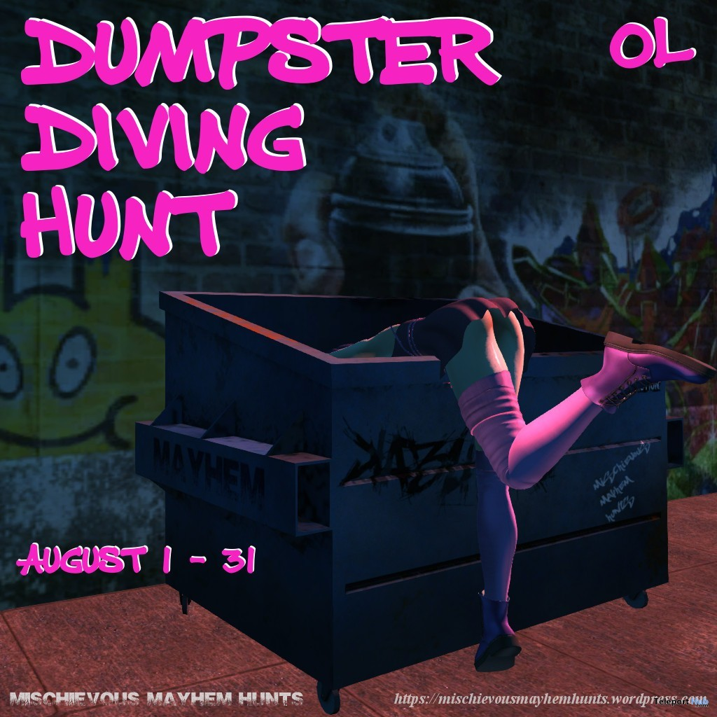 Mischievous Mayhem's Dumpster Diving Hunt 2019 - Teleport Hub - teleporthub.com