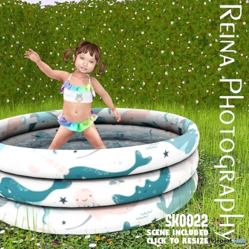 Kid Single Pose With Full Scene SK0022 June 2019 Gift by Reina Photography - Teleport Hub - teleporthub.com