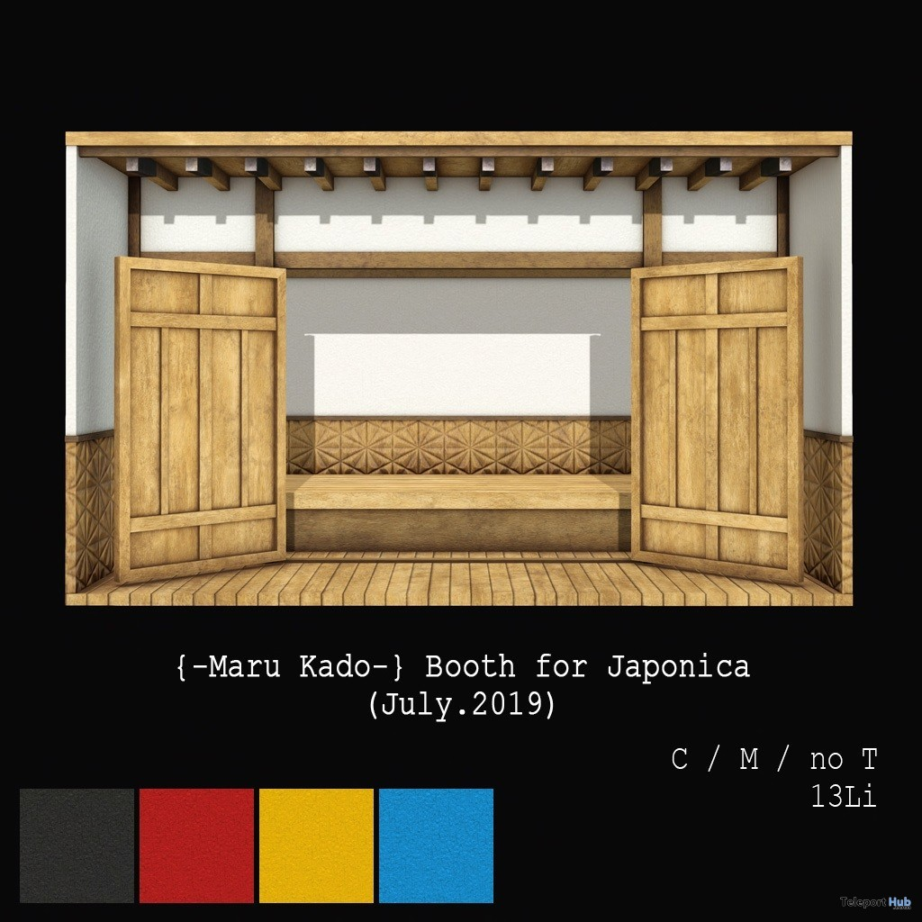Shopping Booth Japonica July 2019 Gift by Maru Kado - Teleport Hub - teleporthub.com