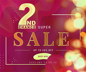 2ndChance Sale Event Ad Package A Dec 7 to Jan 6 300×250