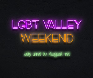 LGBT Weekend Valley Ad Package B Ad 300×250